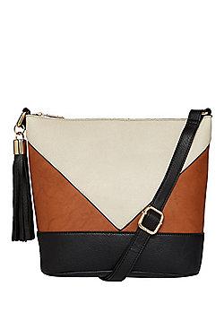 F&F Colour Block Bucket Bag