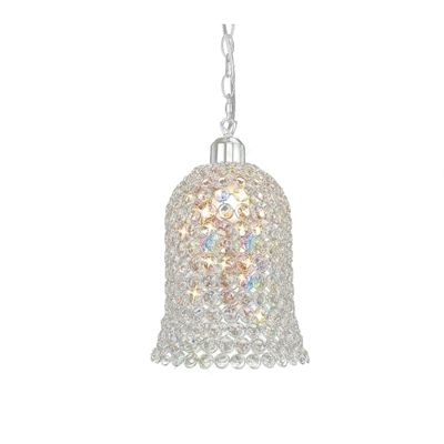 Kudo Bell Shade Non-Electric Polished Chrome/Crystal