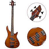 Rocket 4 String Fusion Bass Guitar - Walnut