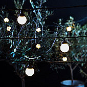 10 Warm White LED Connectable Festoon Lights