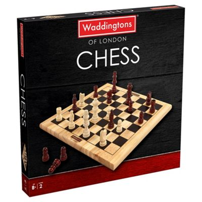 Waddingtons Wooden Games Chess