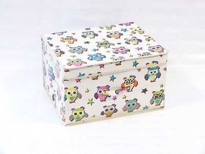 Collapsable Storage Box - Owl