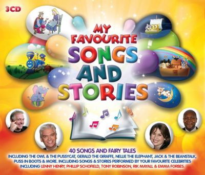 MY FAV SONGS AND STORIES 3CD