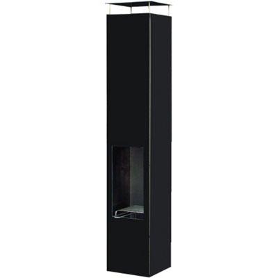 Gardenmaxx Amayo 160cm Fireplace - Black
