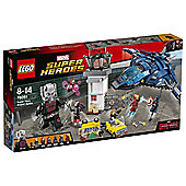 LEGO Marvel Super Heroes Super Hero Airport Battle 76051