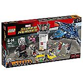 LEGO Marvel Super Heroes Super Hero Airport Battle 76051