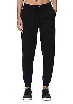 F&F Active Soft Touch Joggers - Black