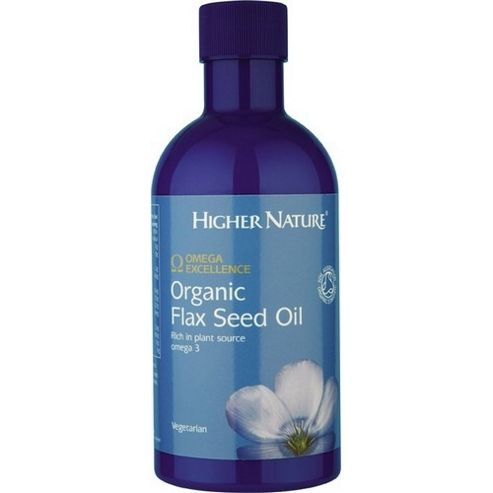 Higher Nature Omega Excellence Organic Flax Seed Oil 350ml