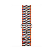 Apple MQVP2ZM/A Band Grey Orange Nylon 42mm Spicy Check Woven