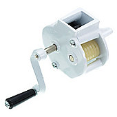 Kitchen Craft Traditional Rotary Bean Slicer with Screw Clamp Fitting