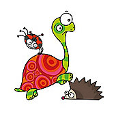 Barnabou Serie Golo Childs Kids Wall Sticker Tortue Tortoise STIS016