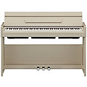 Yamaha YDP-S34 Digital Piano - White Ash