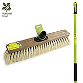"""Charles Bentley National Trust Large 18"""" Dual Fill Driveway Broom"""