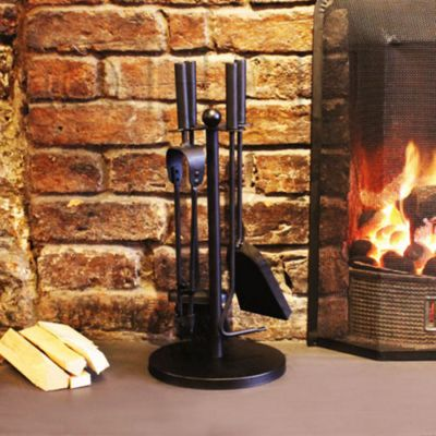 a'la Maison 5 Pc Companion Fireside Fireplace Tools Set