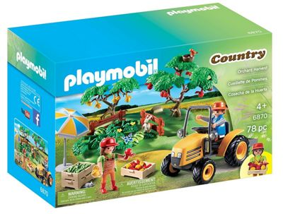 Playmobil 6870 Country Orchard Harvest