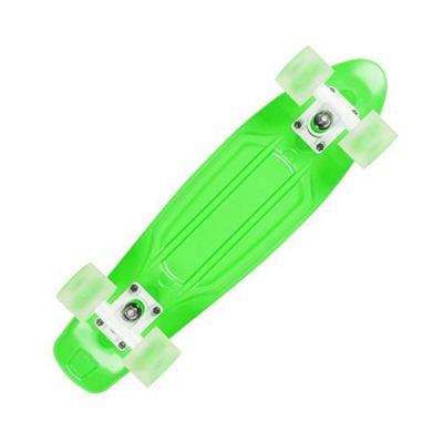 D-Street Polyprop Neon Flash Cruiser - Green