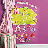 Princess Land Children's Wall Stickers
