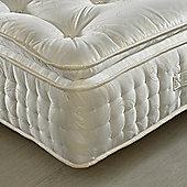 Happy Beds Signature 2000 Pillowtop Pocket Sprung Natural Fillings Mattress