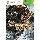 Cabelas Dangerous Hunts 2013 Stand Alone - Xbox-360