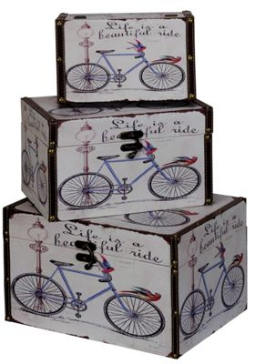 Beautiful Ride - Set Of 3 Storage Boxes