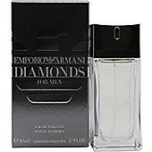 Giorgio Armani Emporio Diamonds Eau de Toilette (EDT) 50ml Spray For Men