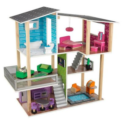 Modern Living Dollhouse