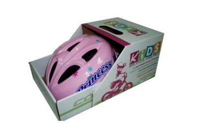 Coyote Kids Princess Girls Bike Helmet Small 48-52cm