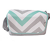 My Babiie Baby Changing Bag (Mint Chevron)