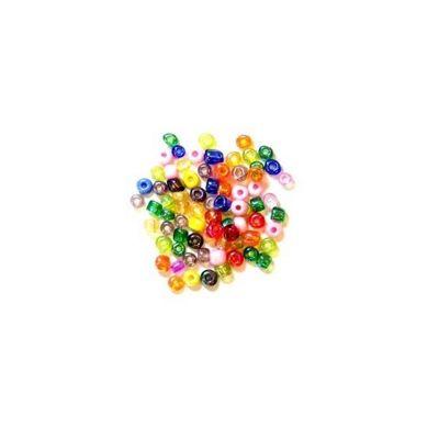 Impex Glass E Beads Multicolour 8 Grams