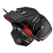 Mad Catz RAT 4 Optical Gaming Mouse 5000dpi - Black