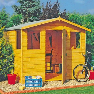 Orkney Shed 8x6 with Apex Roof by Finewood