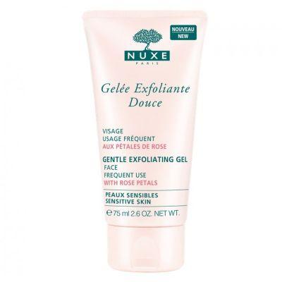 Nuxe Gentle Exfoliating Gel with Rose Petals 75ml
