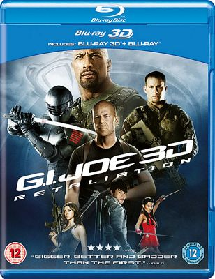 Gi Joe: Retaliation - Bluray 3D