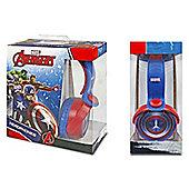 Marvel Avengers Captain America Stereo Headphones
