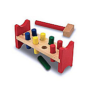 Melissa & Doug - Wooden Pound A Peg Set