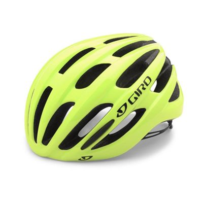 Giro Foray Road Bike Helmet Highlight Yellow