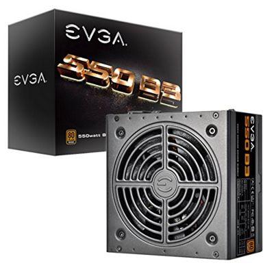 EVGA 220-B3-0550-V3 80 Plus BRONZE 550 W Fully Modular Eco Mode Power Supply Unit - Black
