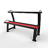 2 Tier Home Gym Kettlebell Weight Storage Display Stand Rack For Kettlebells