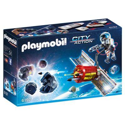 Playmobil 6197 City Action Space Satellite Meteoroid Laser Set