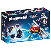 Playmobil City Action Space Satellite Meteoroid Laser Set