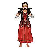 F&F Vampiress Halloween Costume - Red