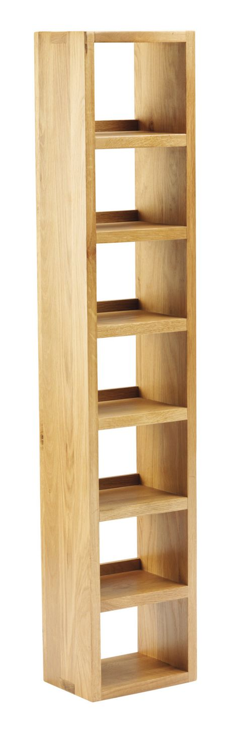 Thorndon Taunton 22cm CD Rack in Medium Oak