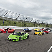 Six Supercar Driving Blast with High Speed Passenger Ride - Weekround