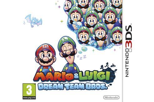 Mario and Luigi: Dream Team 3DS