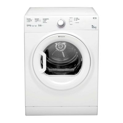 Hotpoint TVFS83CGP C Rated 8KG Vented Tumble Dryer in White