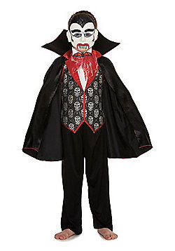 F&F Vampire Halloween Costume - Black