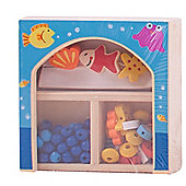 Bigjigs Toys Mini Jewellery Kit (Blue)