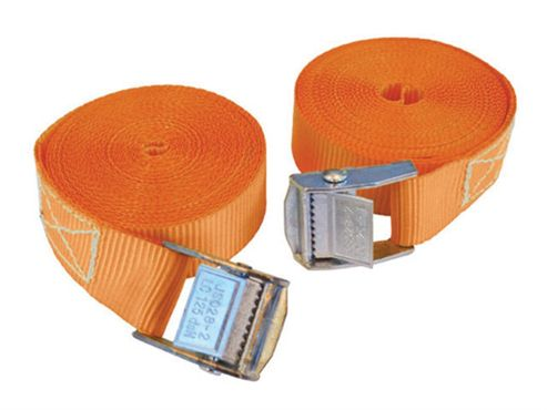 Faithfull Cam Style Tie Downs 25mm x 5m 2pc
