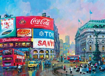 London - Piccadilly Circus 1000pc Puzzle