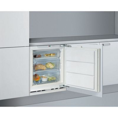 Whirlpool AFB91AFR - 91 litre Built-in Under Counter Freezer, A+ Energy Rating